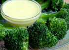 Broccoli with Hollandaise Sauce