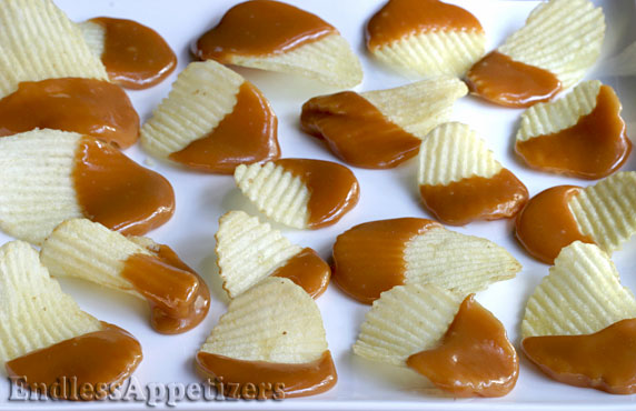 how to make caramel chips