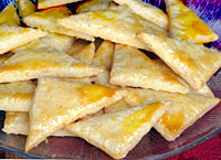 Flaky Cheese Triangles
