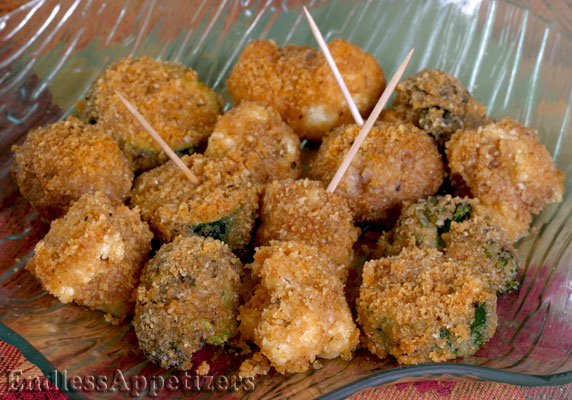 Parmesan veggie bites recipe with picture endlessappetizers com