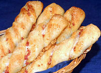 Pepperoni Cheese Twists