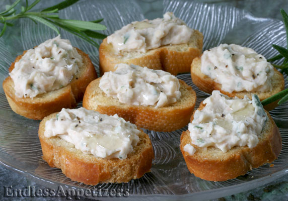 White Bean Bruschetta Recipe with Picture - EndlessAppetizers.com